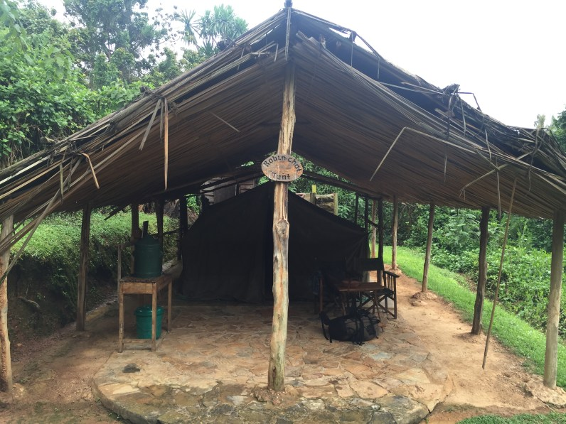 Our safari tent