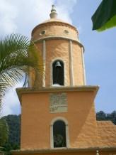 Réplica iglesia de Chachopo. Parque temático La Venezuela de antier