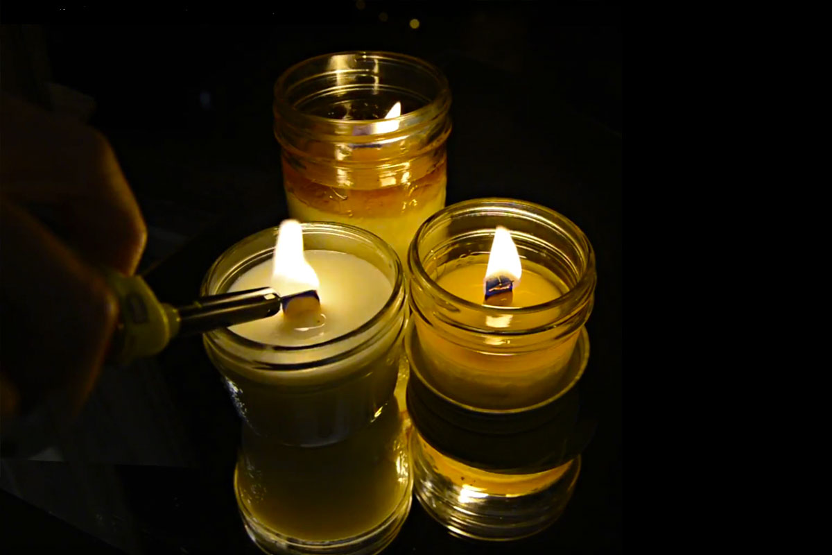 Ori EMBERS – Soy Candle with Wooden Wicks