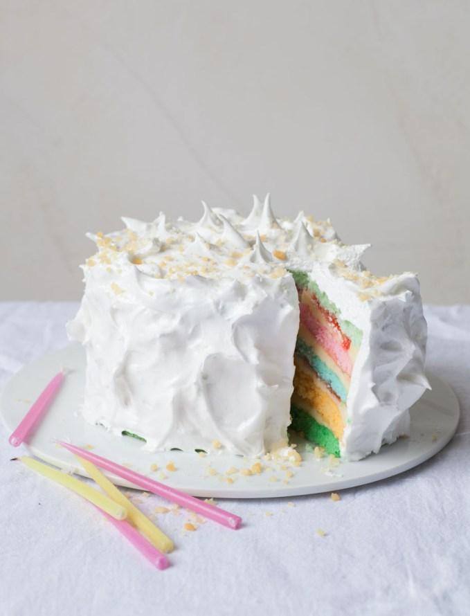 photo d'un Rainbow cake
