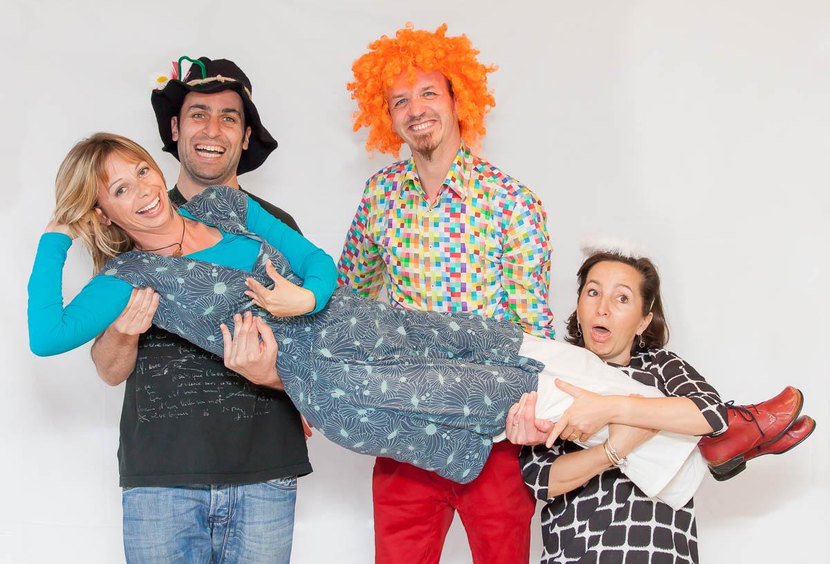 Sandra Meunier Anabelle neztoile atelier clown hôpital