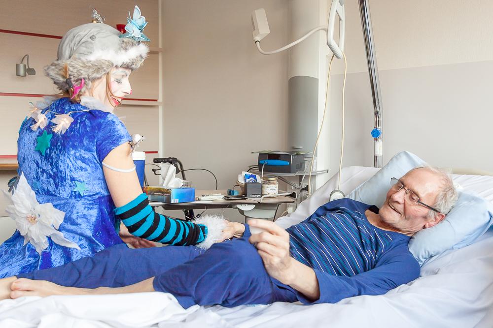 Sandra Meunier neztoile Anabelle en soins palliatifs