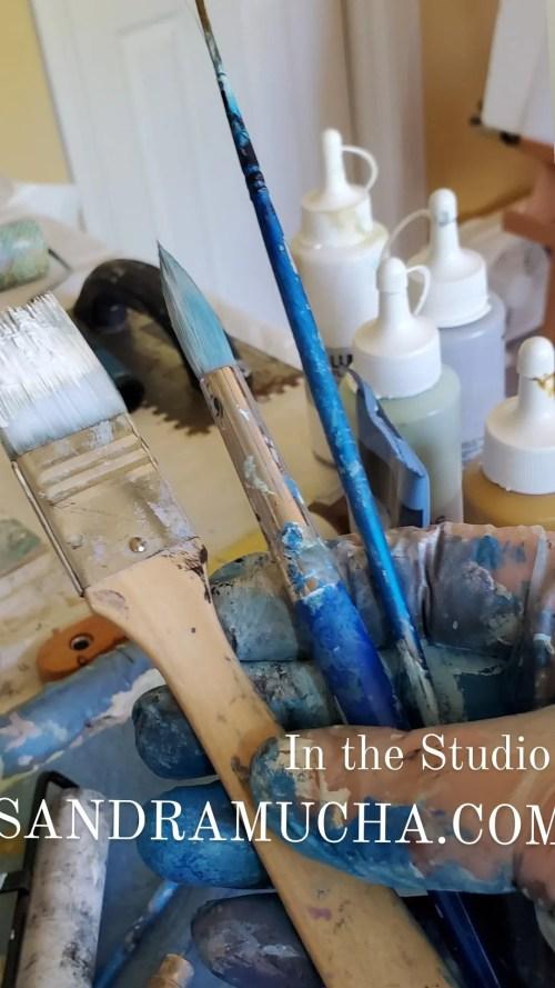 Art exhibits, art collectors