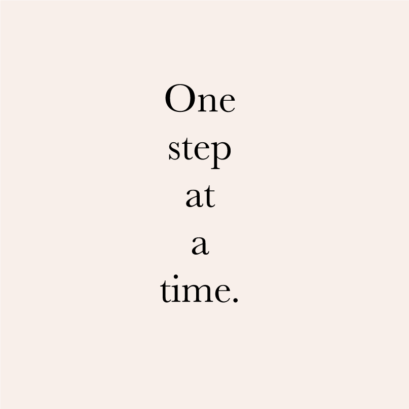 one_Step_at_a_time