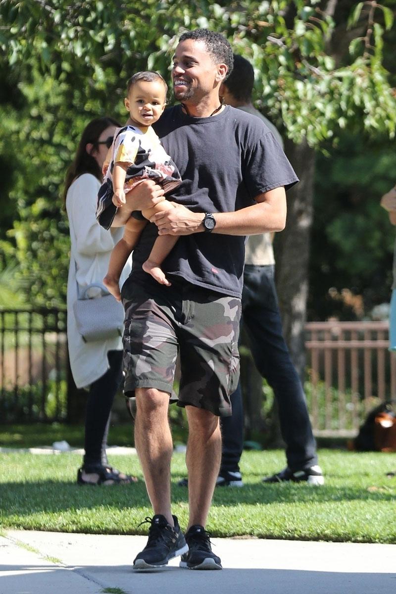 Michael Ealy Amp Daughter Sandra Rose