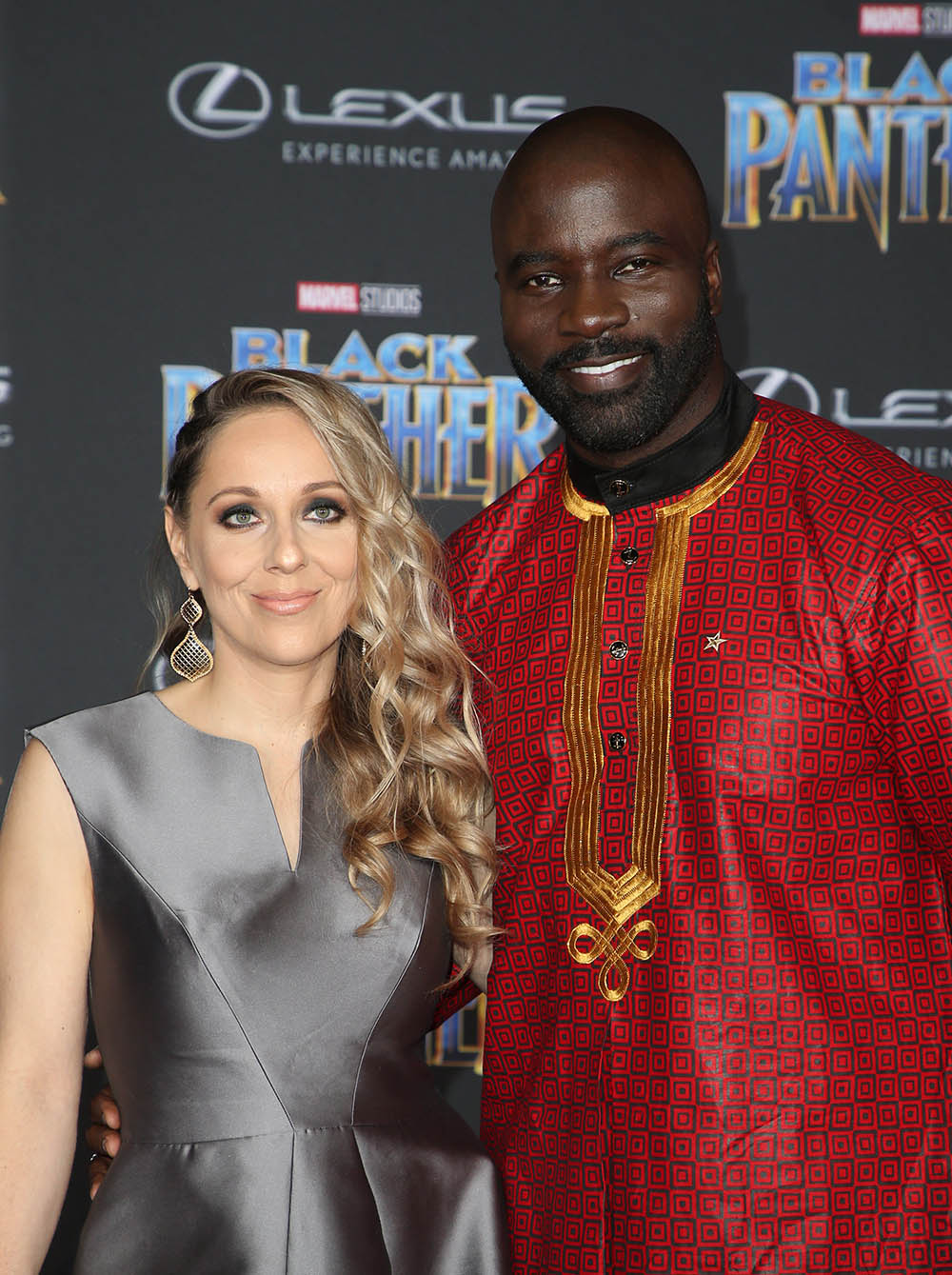 Iva Colter Mike Colter At World Premiere Of Marvel