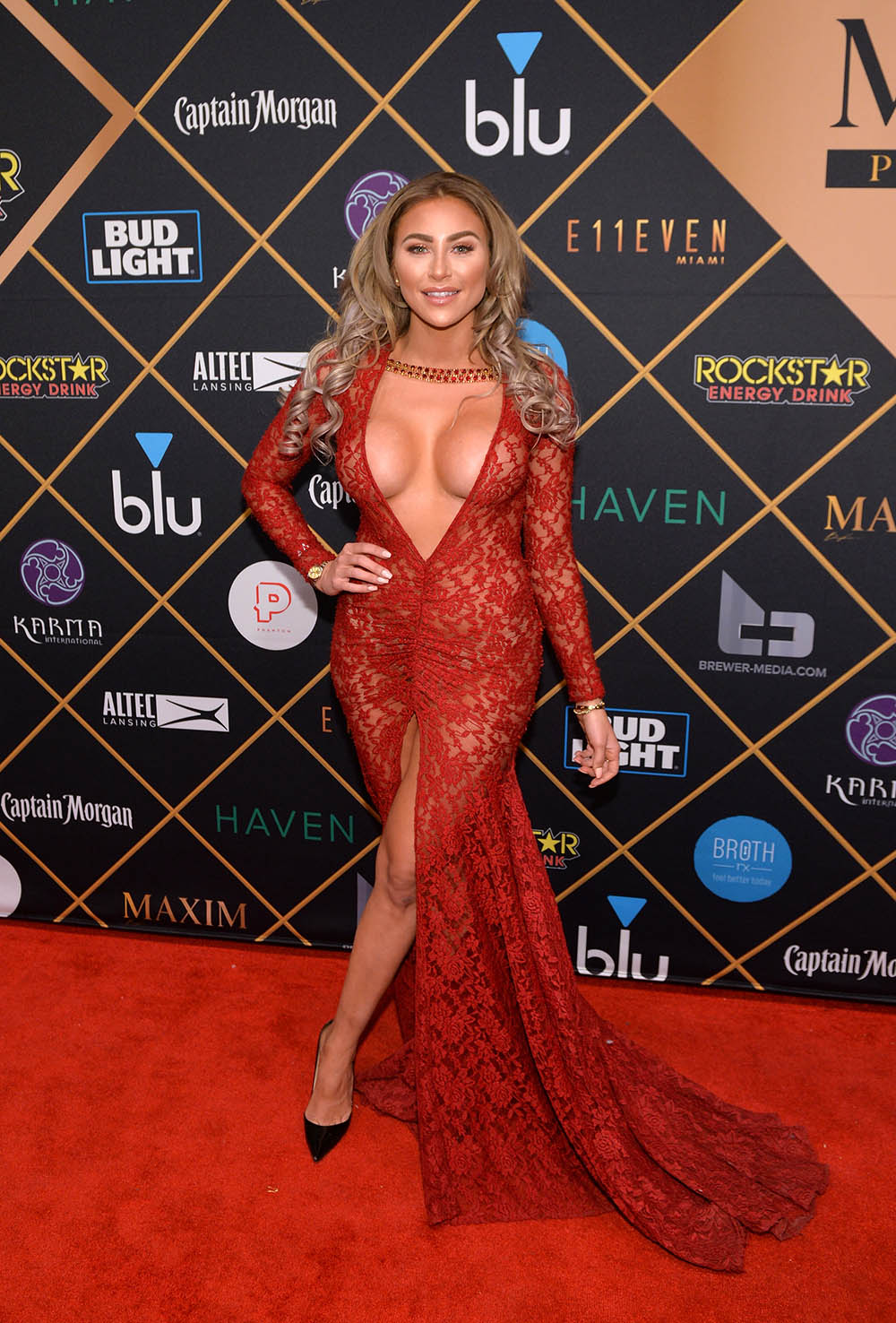 Khloe Terae Attends The 2018 Maxim Party Co Sponsored By