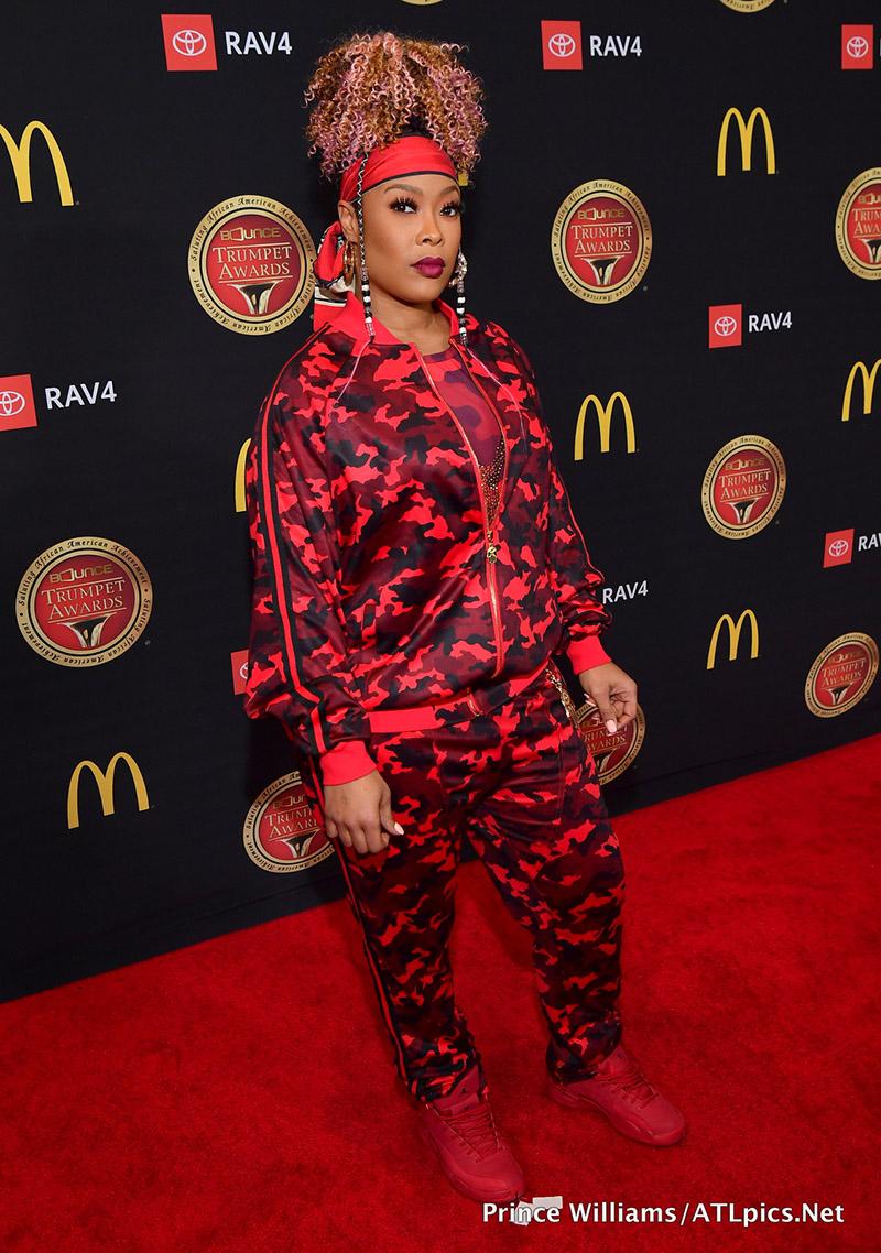 Rapper Da Brat Attends The 2019 Bounce Trumpet Awards Held