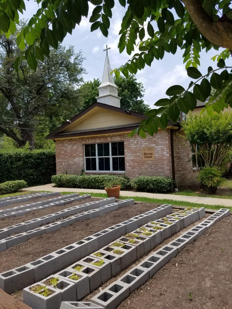 chapel and garden
