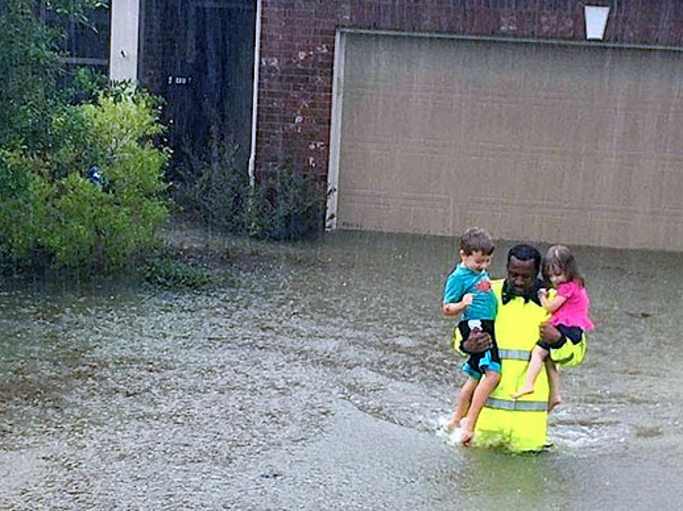 flood water rescues