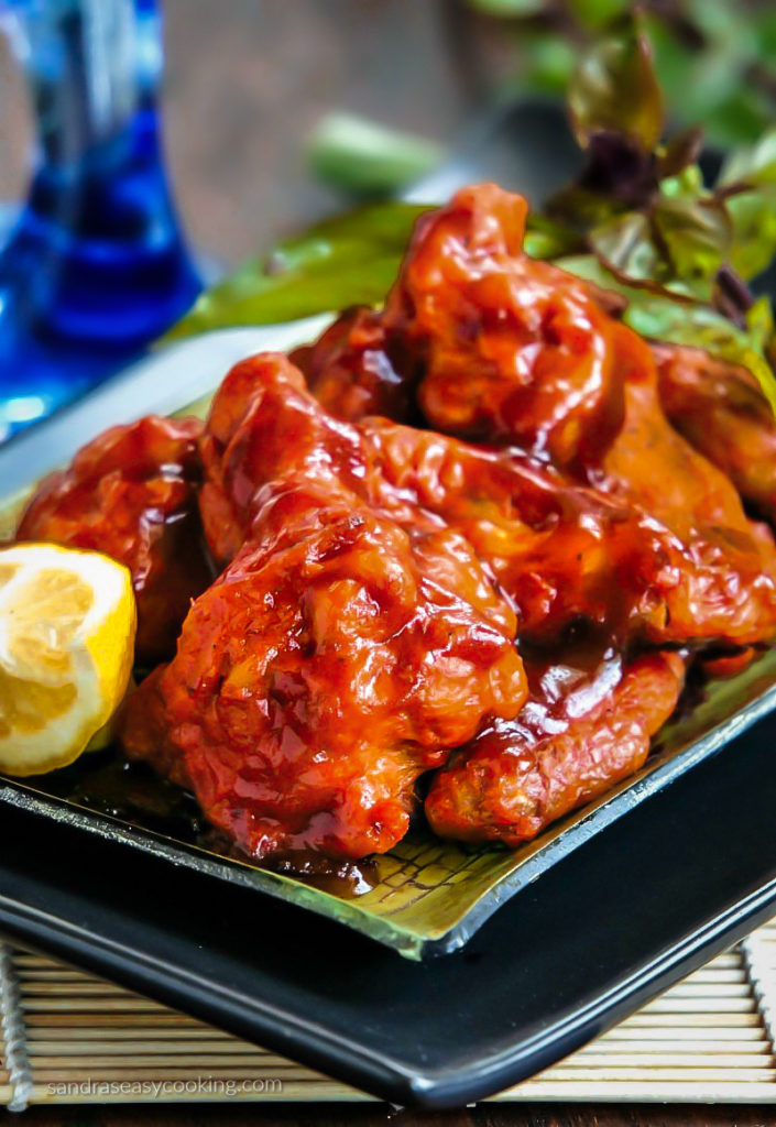 Sriracha Honey Wings Food Wishes