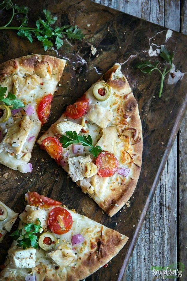 Easy Naan Bread Pizza Recipe