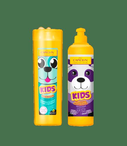 KIDS SHAMPOO + GELZINHO MODELADOR