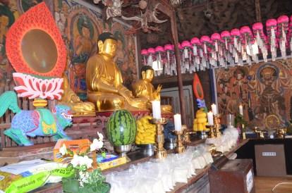 Budistu tempļa tējas ceremonija