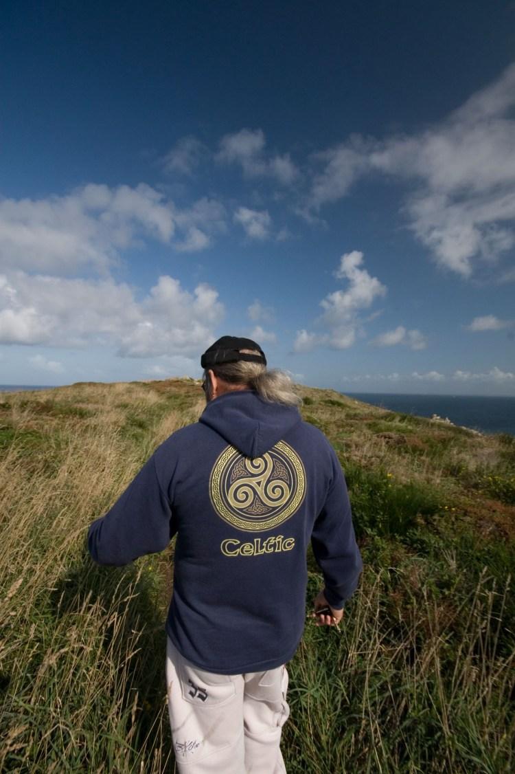 Den Ar C'Hoat, de son nom druidique - l'Homme des bois en breton - a été initié druide il y a 15 ans.