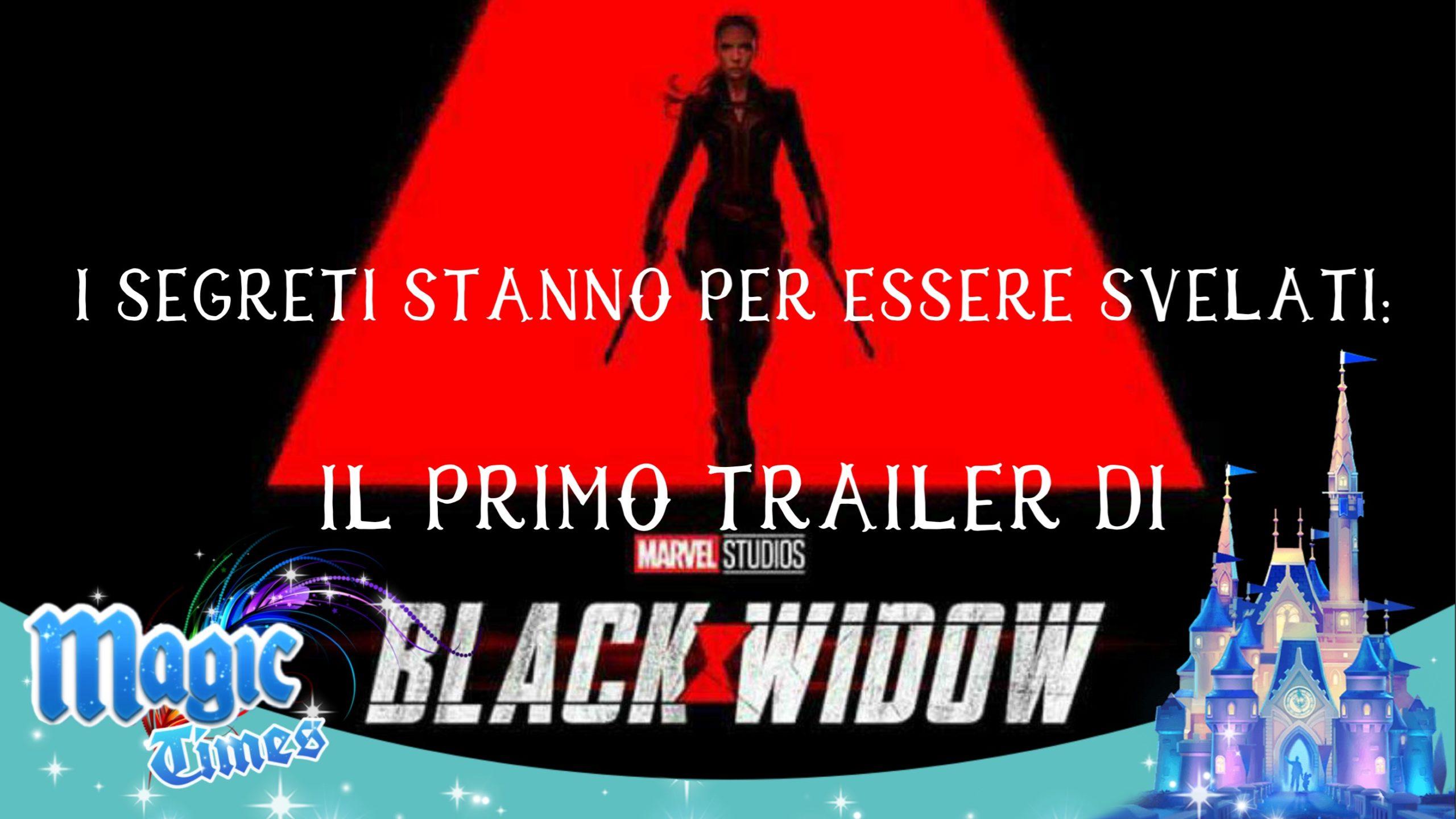 I segreti stanno per essere svelati: il primo trailer di Black Widow