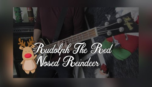 Rudolph The Red Nosed Reindeer (Christmas Cover)
