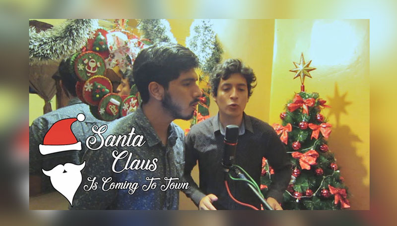 Santa Claus Is Coming To Town (Christmas Cover)