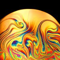 I colori psichedelici degli anni 70