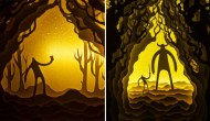 Paper-Cut-Light-Boxes-by-Hari-Deepti-9-600x348