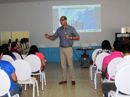 Professor  Dr. José Sérgio de Jesus - Palestrante/Foto: Sandro Vagner
