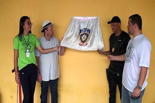 Momento da inauguração da fábrica de vassouras/Foto: ASCOM/Trizidela do Vale