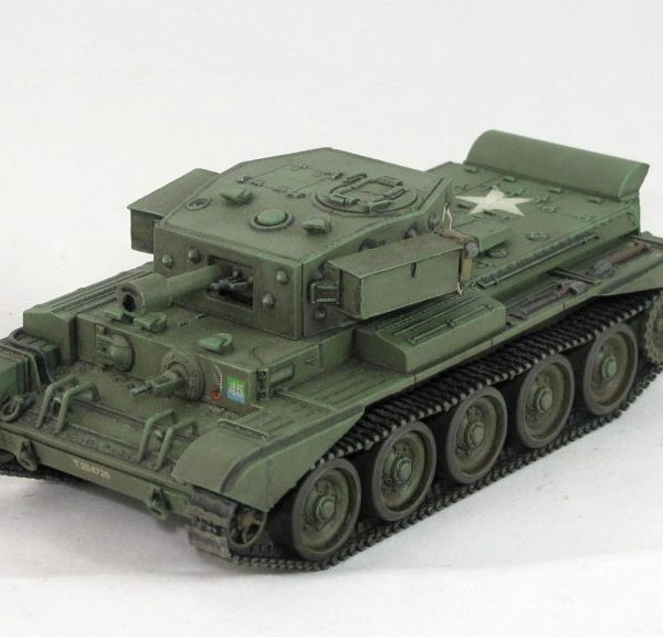 1/56th Cromwell 95mm how & turret boxes