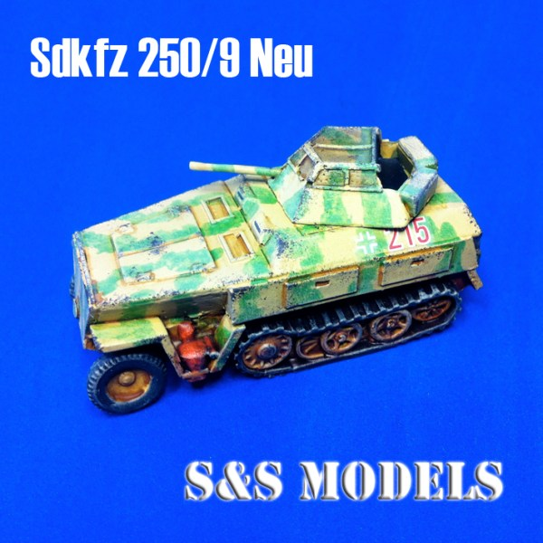 German sdkfz 250/9 neu h/track armoured car