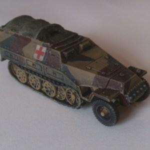 Sdkfz 251 H/track tarpaulin pk of 3