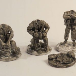 W/Europe armed muilti head infantry command pack of 3