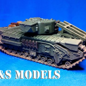 Churchill AVRE fascine and cradle conversion kit