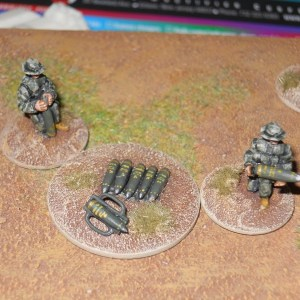 NATO artillery crew pack of 6