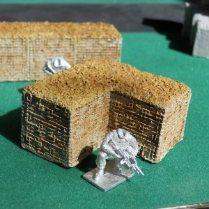 Hesco bastion corner (28mm)