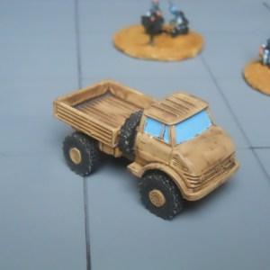 SWB early Unimog 4x4 truck