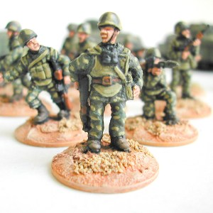 Russian motor rifle troops