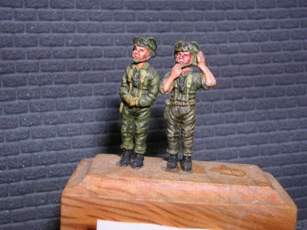 Cold war French tank crew