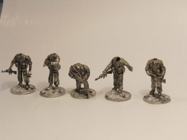 W/Europe armed muilti head infantry pack of 10