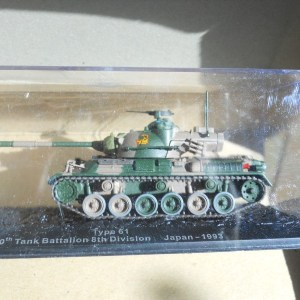 Amercom diecast Japanese type 61 tank