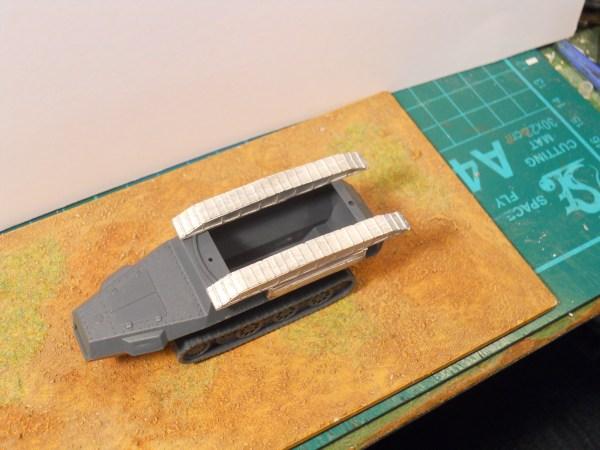 German sdkfz 251/7 engineer add on kit