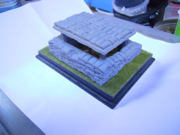 HB3 small Check point Sandbag & Hesco bunker