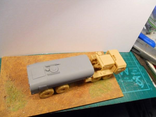 M978 tanker conversion for Academy M977 HEMTT 8x8 kit