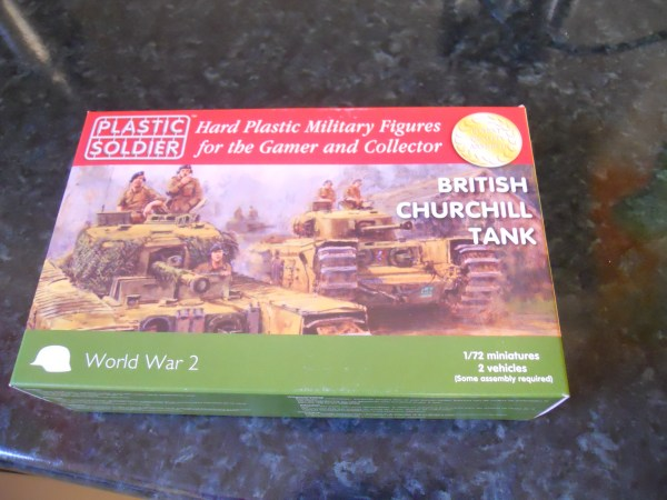Plastic Soldier Company Churchill mk 4 pk of 2