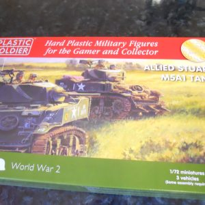 Plastic Soldier Company M5 Stuart pk of 3