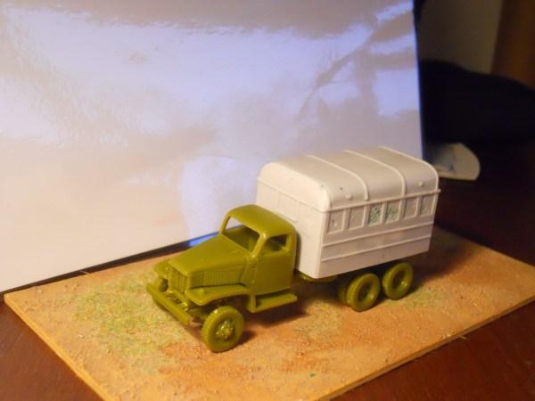 GMC 6x6 truck workshop body conversion
