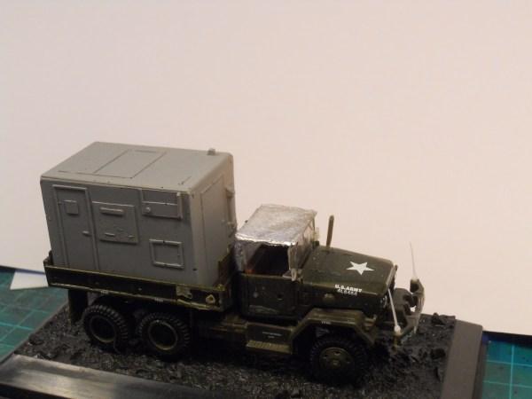 Academy 1/72 M35 6x6 truck & shelter body offer