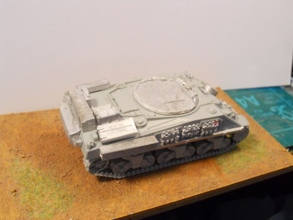 1/56th Italeri/Warlord M4 Sherman & arv conversion kit