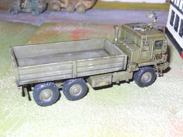 GS body for Amercom US Himars mlrs truck