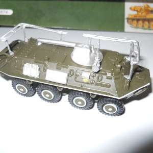 "BTR-60R-145BM ""Chaika"" conversion"
