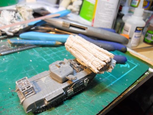15mm Churchill avre fascine & cradle conversion