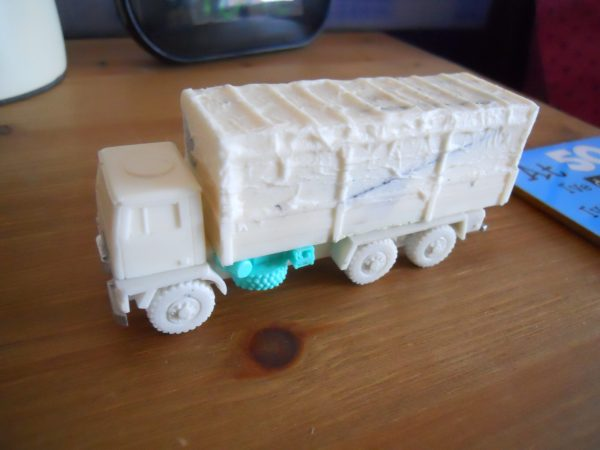 Bedford TM 6x6 open or tilted